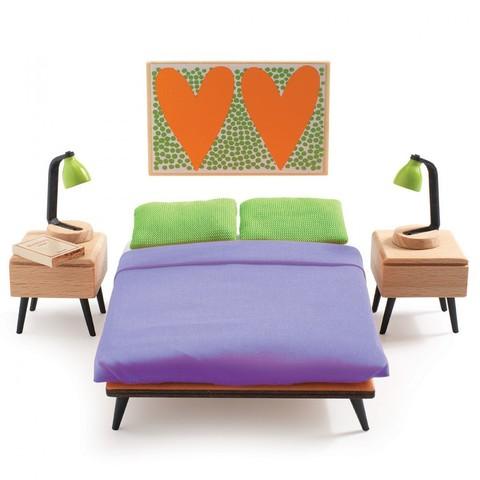 Мебель для кукольного дома Спальня родителей