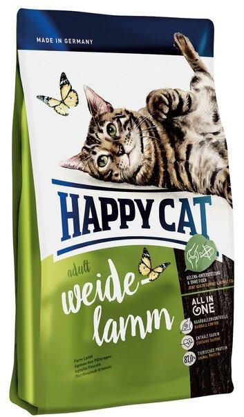 купить Happy Cat Adult Weide-lamm сухой корм для взрослых кошек с ягненком