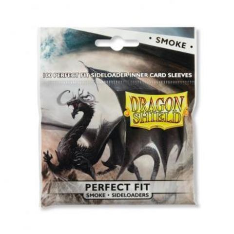 Протекторы Dragon Shield Perfect Fit Sideloaders - Smoke (100 шт.)