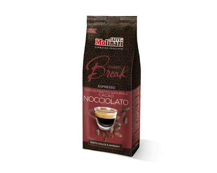 Кофе молотый Molinari SWEET BREAK HAZELNUT