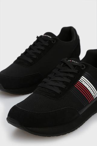 Мужские черные кроссовки CORPORATE Tommy Hilfiger