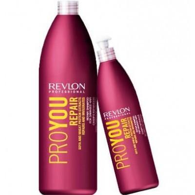 REVLON ProYou Repair: Шампунь для волос восстанавливающий (ProYou Repair Shampoo), 350мл/1л