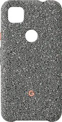 Чехол Google Pixel 4a Fabric Case, Static Grey (Серый)