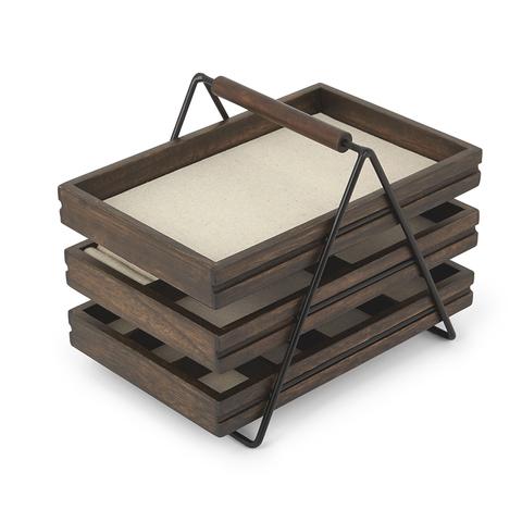 Шкатулка для украшений terrace орех