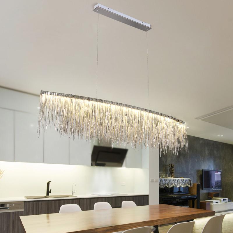 Подвесной светильник Waterfall by Light Room L120 (серебряный)
