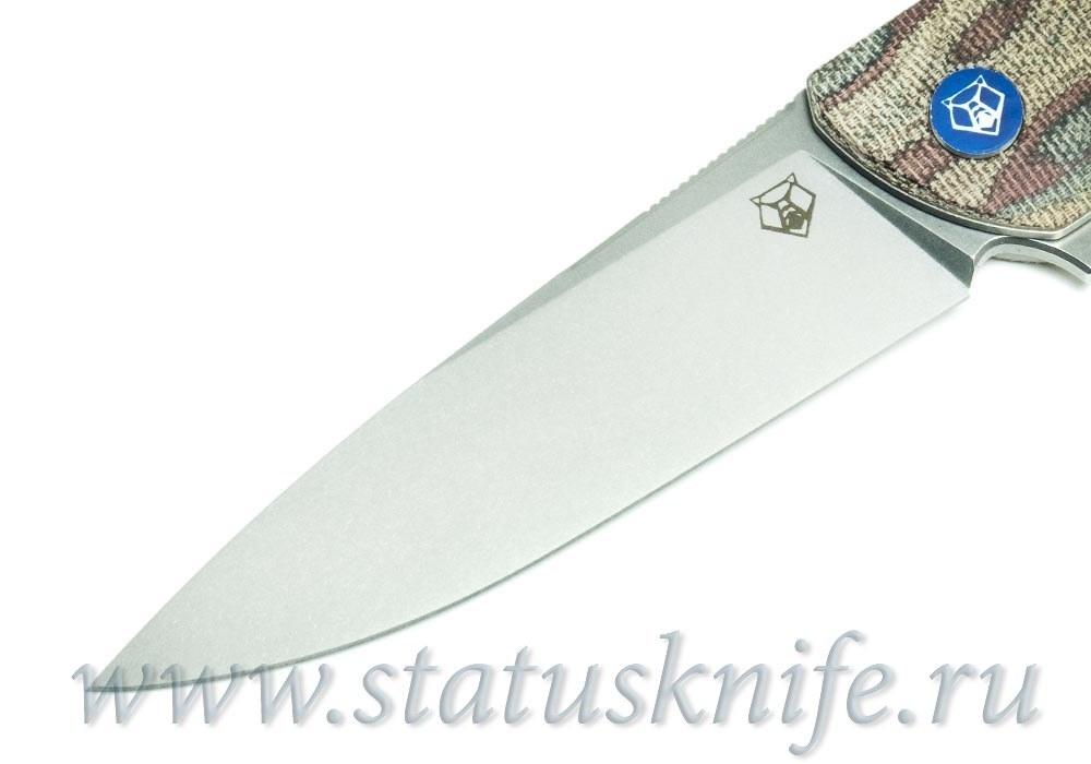 Нож Широгоров Ф3 Vanax 37 Микарта Питон 3D подшипники - фотография