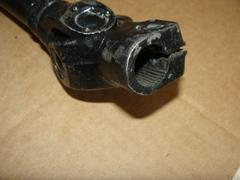 валик карданный рул.упр. УАЗ 3162,3163 крупн/мелк.шлиц.длинный ГУР ZF (АДС)