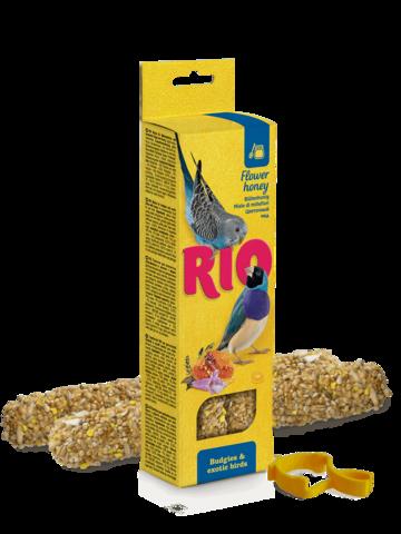 RIO палочки для волнистых попугайчиков и экзотов с медом 2х40г