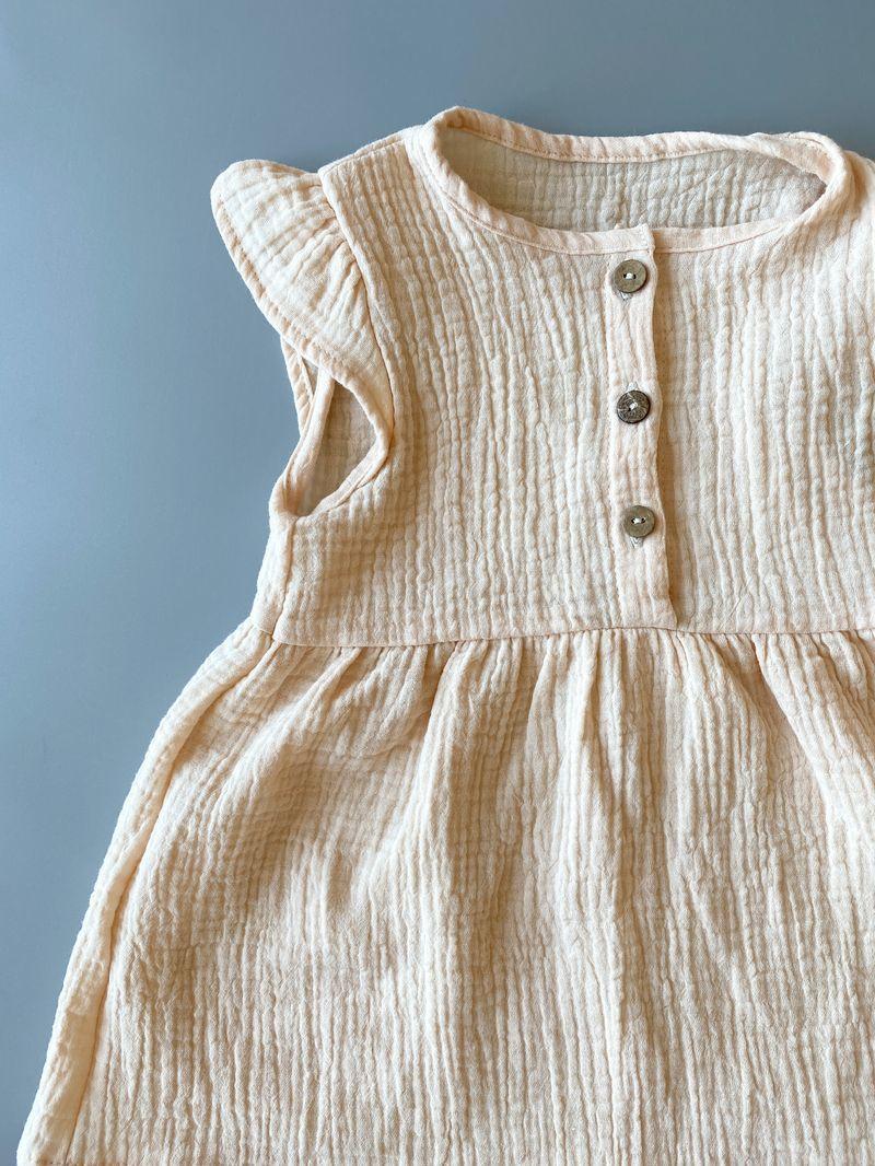 Муслиновое платье «Cream»