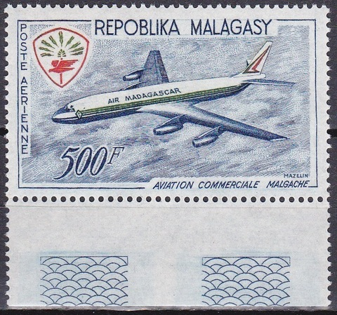 Мадагаскар 1963 №493 **MNH