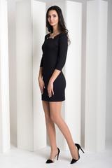 Рубіна. Практична молодіжна сукня. Чорний