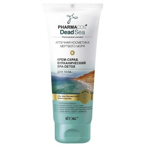 Крем-скраб Вулканический SPA-Detox для тела , 200 мл ( Pharmacos Dead Sea )