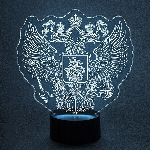 Герб России - Двуглавый орел