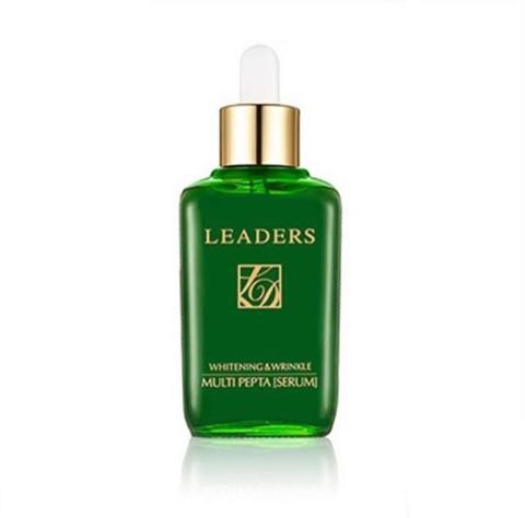 Leaders Whitening & wrinkle multy pepta serum