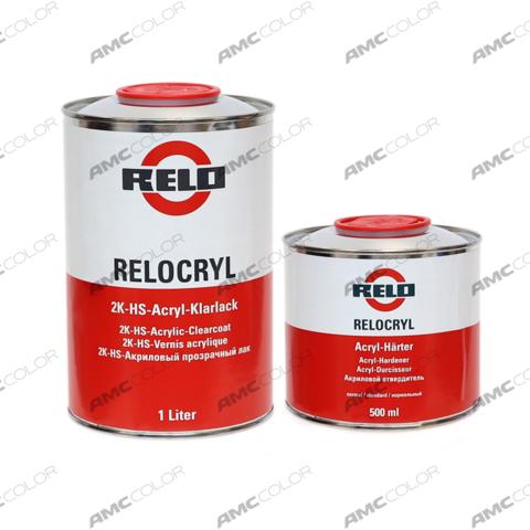Relo 2K Лак HS 1,5л комплект
