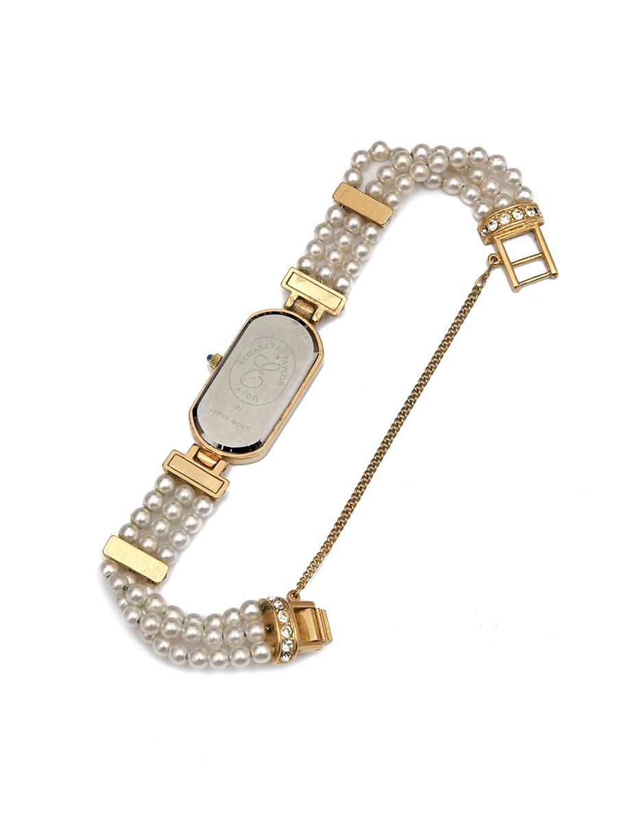 Часы на жемчужном браслете E. Tailor for Avon