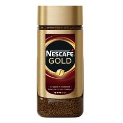 Кофе Nescafe  Gold растворимый с добавлением молотого c/б 95г