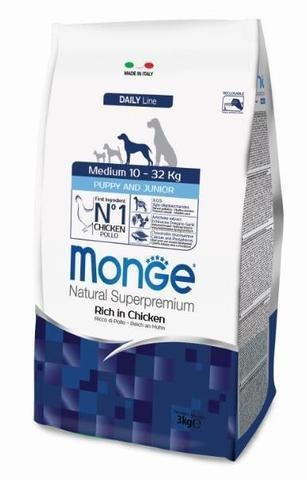 купить Monge Dog Medium корм для щенков средних пород