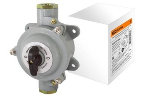 Пакетный выключатель ПВ2-63 2П 63А 220В, силуминовый корпус, IP56 TDM