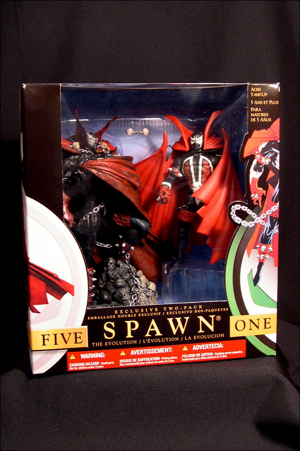Spawn — Evolutions Exclusive 2-Pack