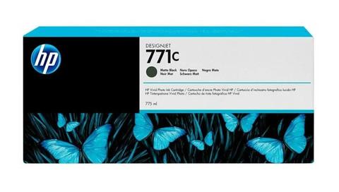 Оригинальный картридж струйный HP B6Y07A (№771C) черный матовый