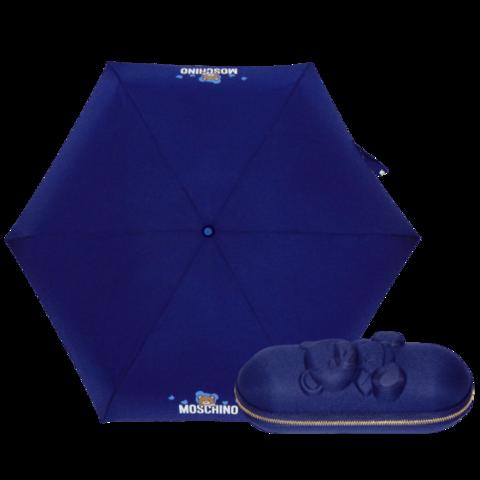 супермини синий зонтик мишка Тэдди