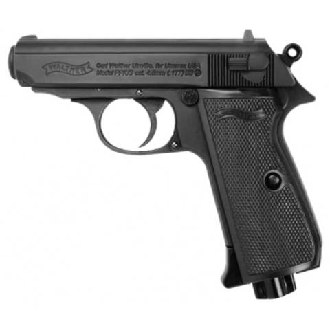 Пневматический пистолет Umarex Walther PPK/S Blowback