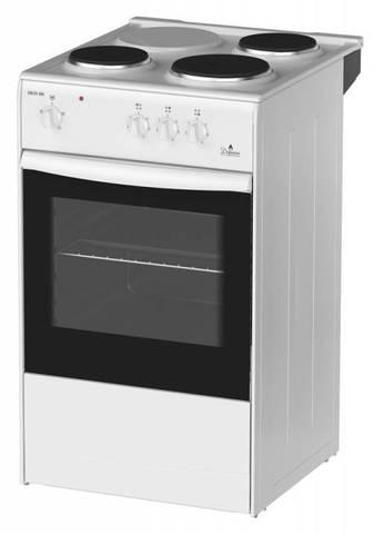 Плита Электрическая Darina S EM 331 404 W белый эмаль