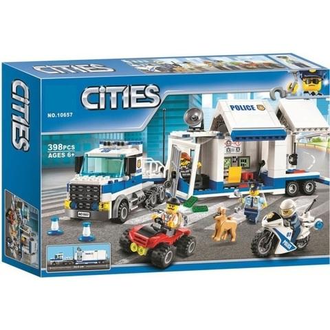Конструктор Cities 10657 Мобильный командный центр