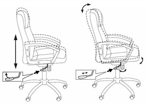 T-800 AXSN Кресло руководителя (Бюрократ)