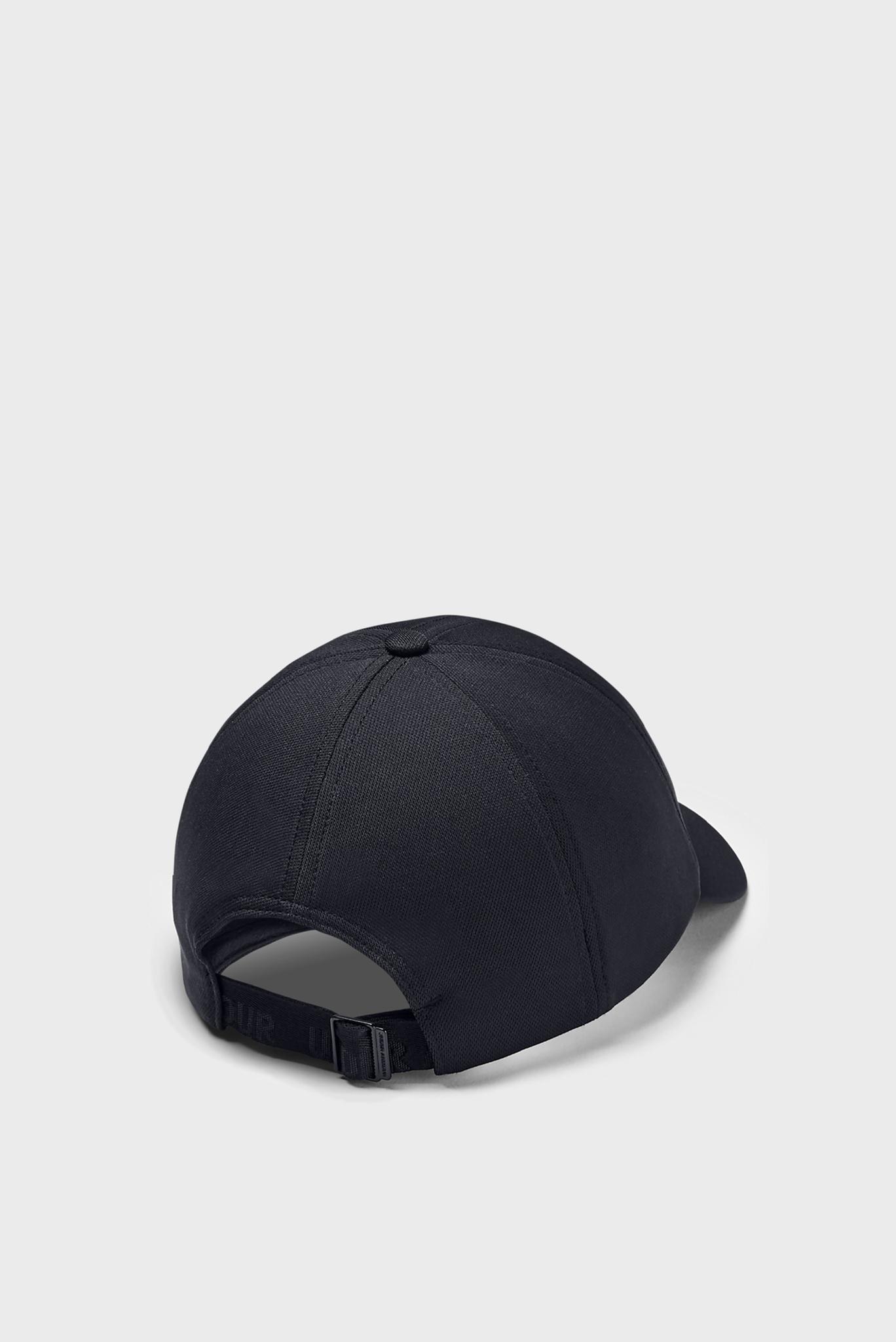 Женская черная кепка UA Play Up Cap Under Armour