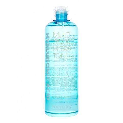 Тонер увлажняющий с гиарулоновой кислотой FarmStay Hyaluronic Acid Multi Aqua Ultra Toner