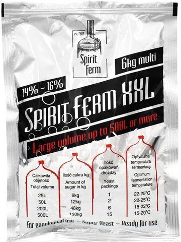 Спиртовые турбо дрожжи Spirit Ferm XXL 6kg