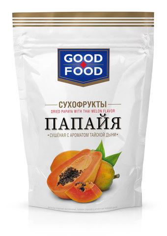 GOOD FOOD Папайя с ароматом тайской дыни 110г