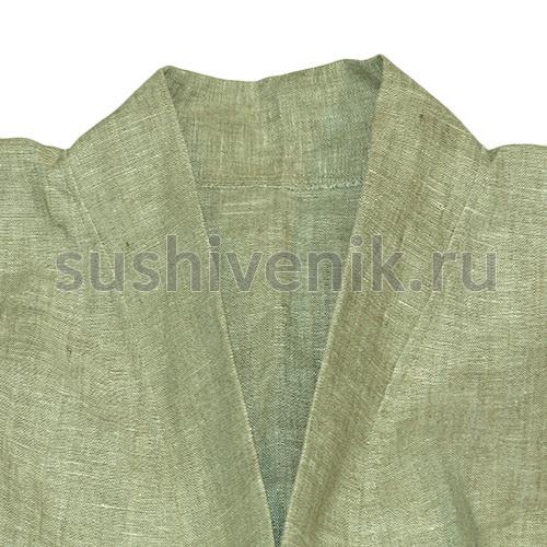 Льняной халат для бани и сауны