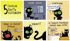 Кошки-мышки.  Дом вверх дном