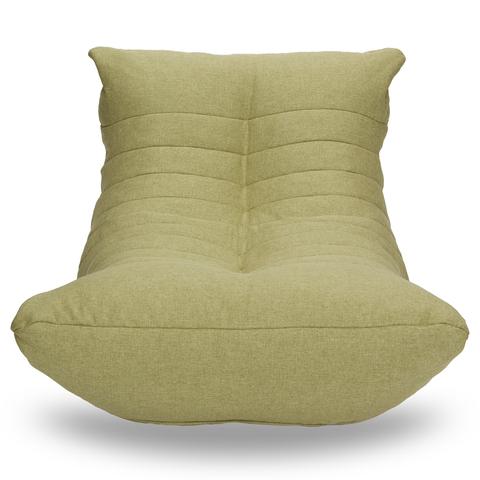Бескаркасный лежак «Кокон», Оливковый