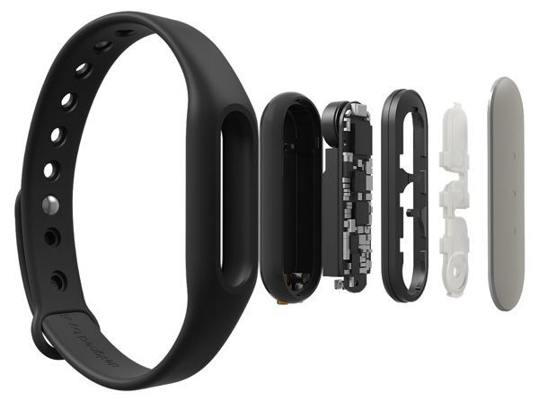 фитнес браслет Xiaomi Mi Band black цена