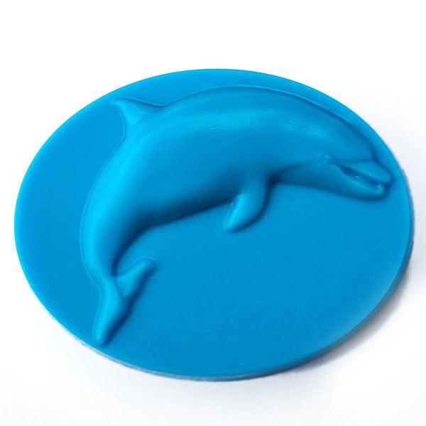 Пластиковая форма для мыла Дельфин