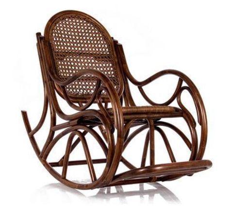 Кресло-качалка с подушкой Bella (004.039) орех