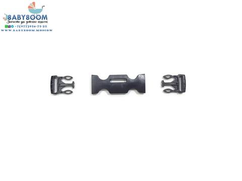 Крепление ремня (фастекс) трехточечный, ширина 20 мм