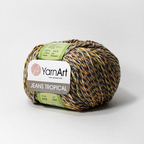 Пряжа YarnArt Jeans Tropical цвет 610