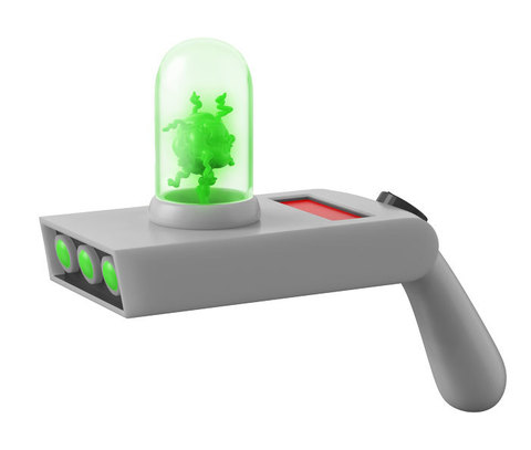 Funko Roleplay Animation: Rick And Morty - Portal Gun