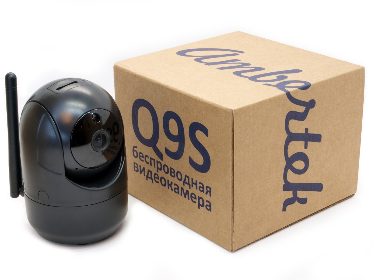 Wi-Fi IP мини видеорегистратор Ambertek Q9S