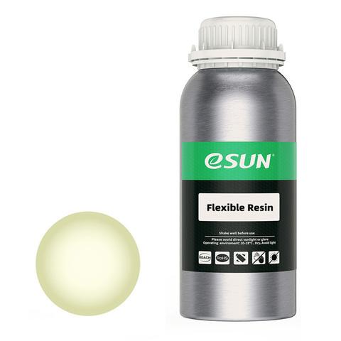 Фотополимер ESUN Flex прозрачный-желтый (0,5 кг)