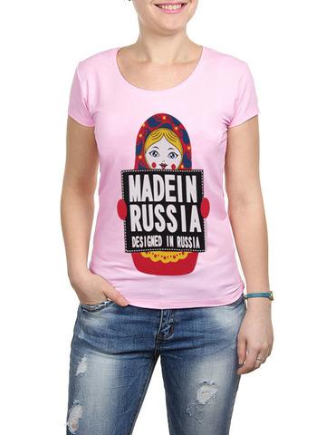 2352-5 футболка женская, светло-сиреневая