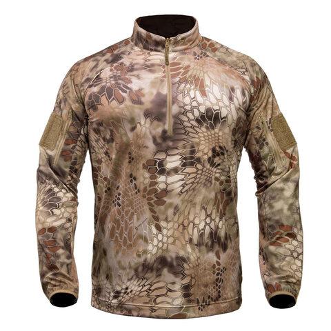 Куртка KRYPTEK Valhalla LS ZIP с молнией и длинными рукавами (Highlander)