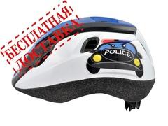 """Велошлем Longus Vorm """"полиция"""", синий"""