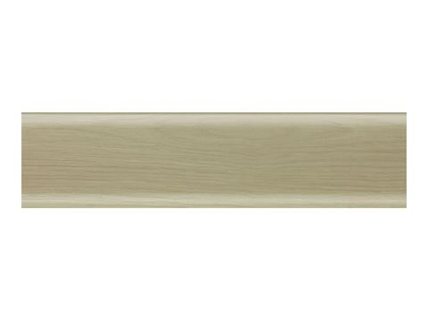 Дуб Полярный 56 плинтус с мягким краем (2500*56мм) Salag Польша