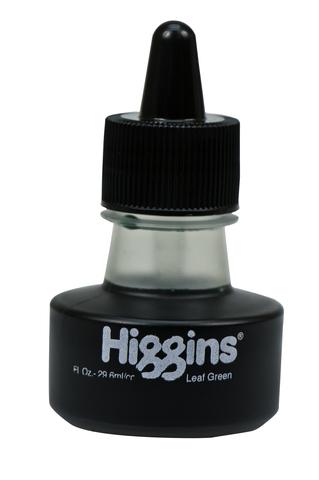 Чернила HIGGINS LEAF GREEN Dye-Based 1 OZ, 29,6 мл